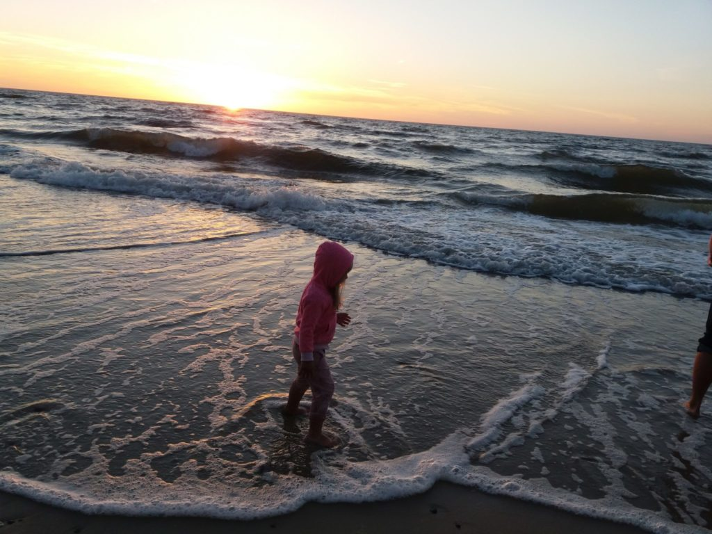 Plaża nad morzem w Pobierowie